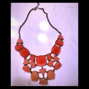 Jewelry - Beautiful coral statement necklace